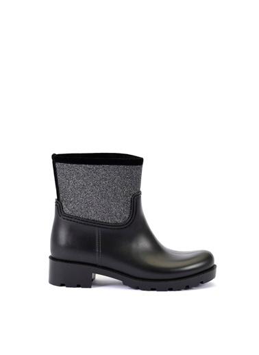Esem ESEM B0012 Yağmur Botu Kadın Ayakkabı  Gümüş